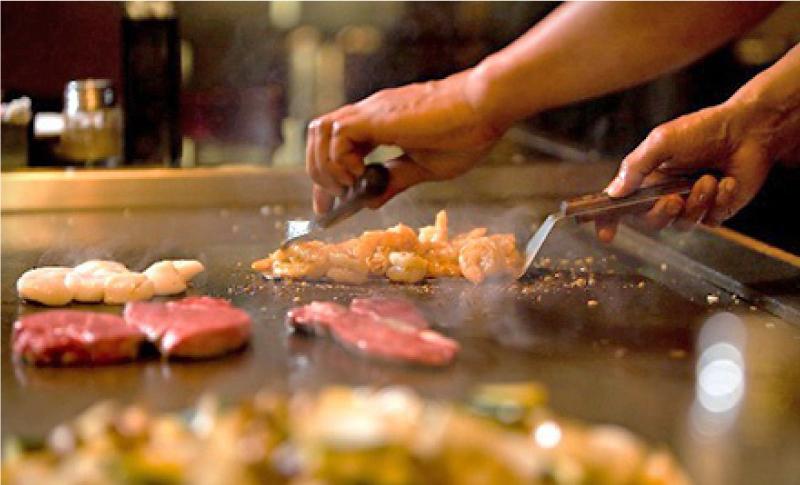 hibachi dinner sake japanese steak house