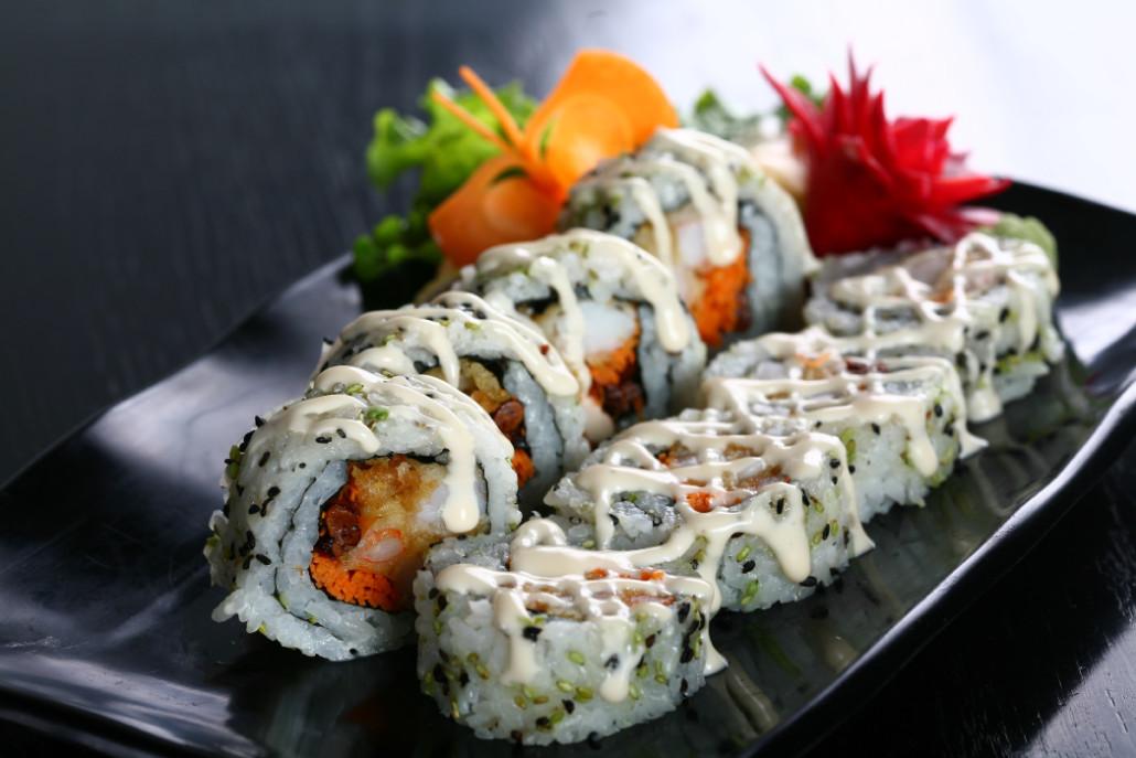 Fried Dragon Roll Rolls – Sake Japanes...